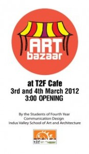 ART BAZAAR at T2F [3-4 March]