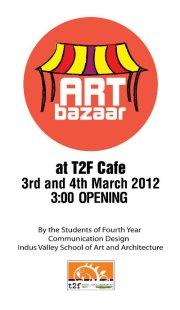 ART BAZAAR at T2F [3-4 March]