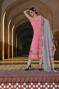 Sobia Nazir Lawn Collection 2012 Prints and Prices pink