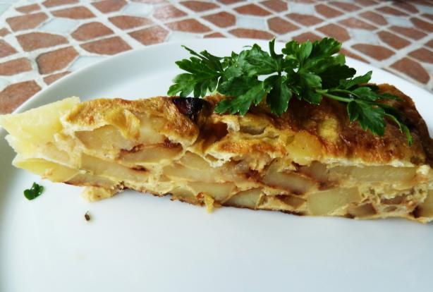 Spanish Omelet (Tortilla Patatas)