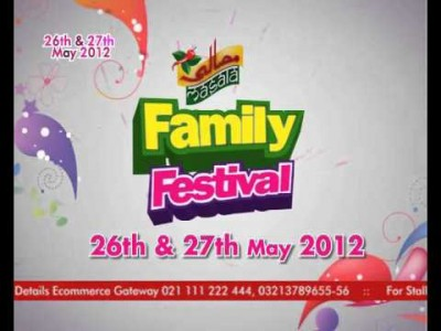 Masala Family festival 2012 karachi expo