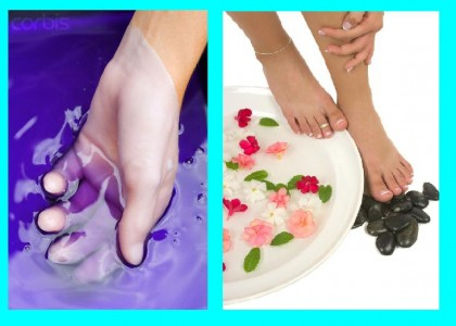 Paraffin wax treatment for hand and feet