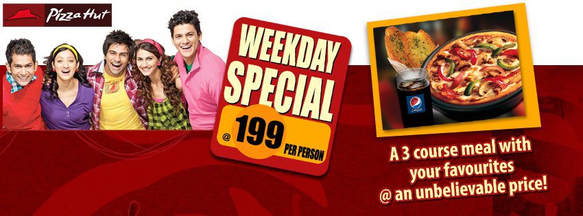 Pizza Hut Weekday Special deal