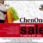 ChenOne Mid Summer Sale 2012