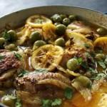 Moroccan-style chicken casserole recipe
