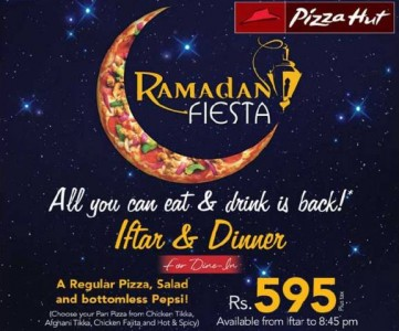 Pizza hut Ramadan Iftar deal 2012