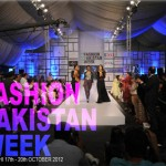 Fashion Pakistan Week 4 Fall /Winter 2012 Dates