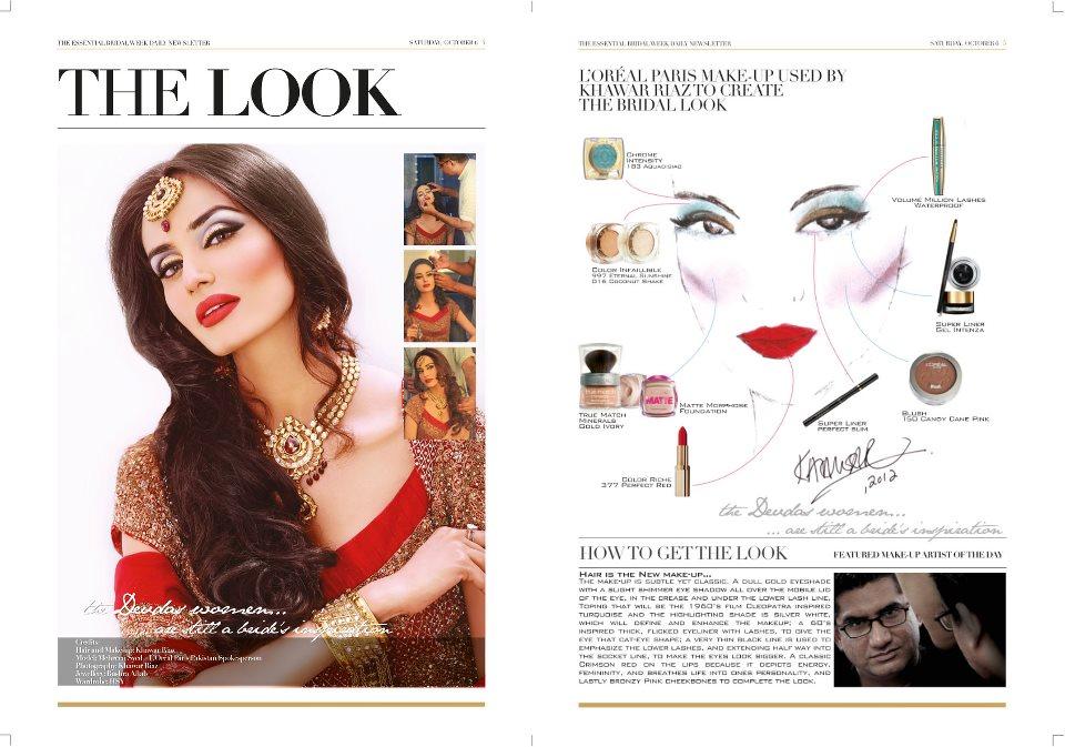 Bridal Makeup Tips by Khawar riaz BCW 2012