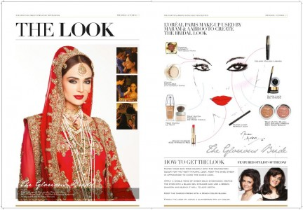 Bridal makeup look 2012 by Maram and Aabroo