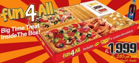 Fun For All 2012 Pizza hut dEAL