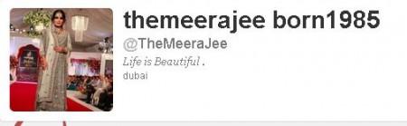 Meera Age Twitter