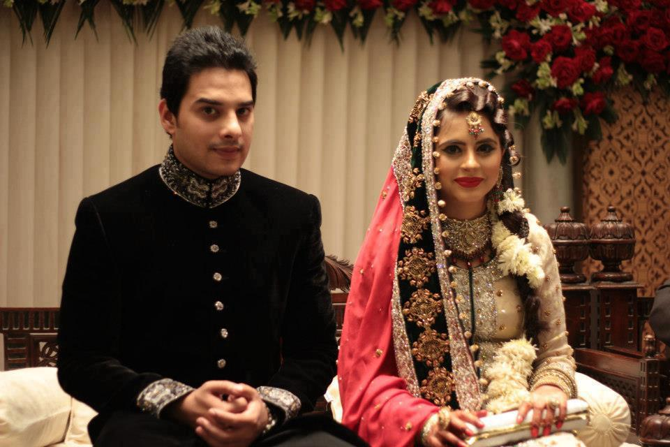 Fatima Effendi Kanwar Arsalan Wedding marriage