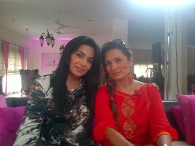 The Meera Jee in Veet Miss Super Model Contest 2012