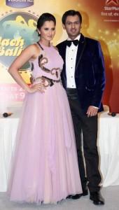 Shoaib Malik and Sania Mirza in Indian Dance show Nach Baliye 5