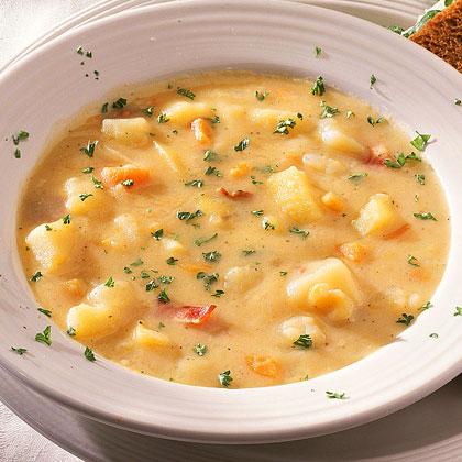 Yummy Cheesy Potato Soup Recipe