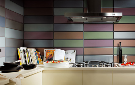 Fresh Ambiance with Kitchen Wall Tiles