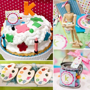 Host a Craft Birthday Party for kids
