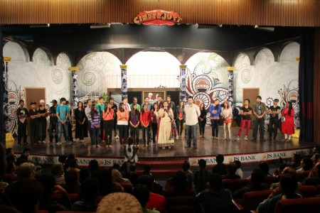 Musical Play CinderJutt at Arts Council Karachi