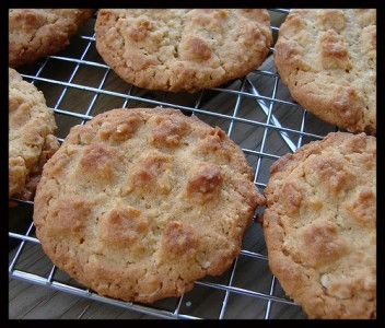 Peanut Butter Oatmeal Criss-Cross Cookies