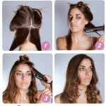 Step by step guide to do loose curls