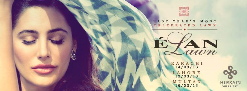 Elan Spring Summer 2013 Lawn Exhibition