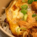 Oyako donburi- Japanese Chicken and Egg Rice Bowl