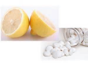Aspirin & Lemon Juice Mask for Acne