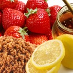 Strawberry, Honey and Brown Sugar Acne Mask