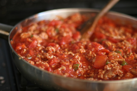 easy meat sauce for pasta