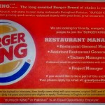 Burger King coming to Karachi